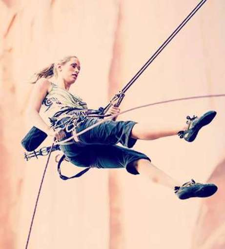 Abseiling on your Hen Weekend