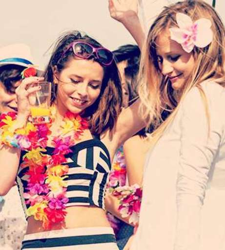 Hen Party Beach Club Entry Activity
