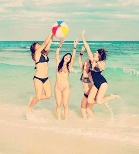 Beach Games for a Hen Party