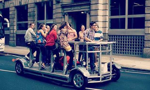 Amsterdam Hen do Beer bike party package | Hen Weekends