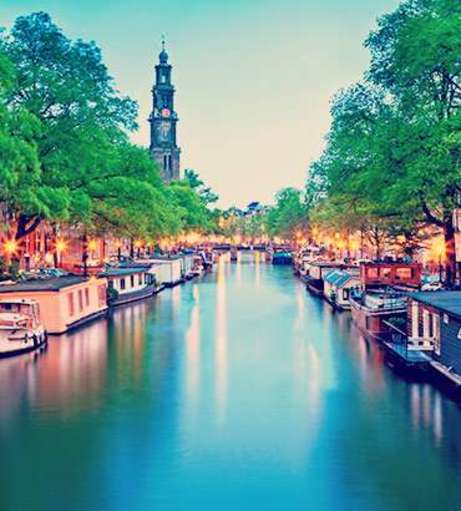 European Hen Do Destination - Amsterdam