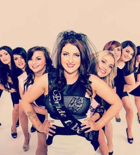 Blackpool Hen Party Packages - Makeover and Photoshoot