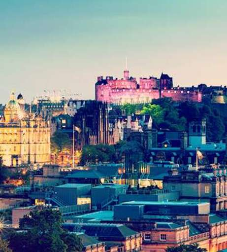 UK Hen Party Destination - Edinburgh