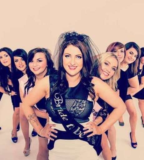 Edinburgh - Hen Party Packages - Makeover and Photoshoot