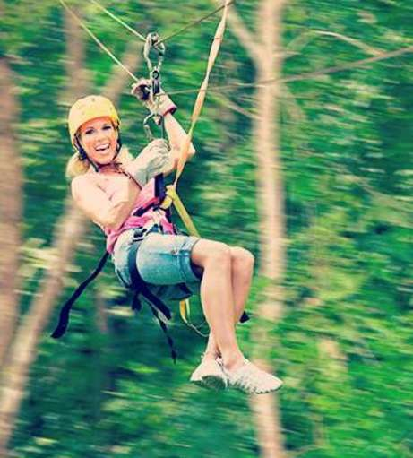 Malta Hen Party Packages - Zip Lining
